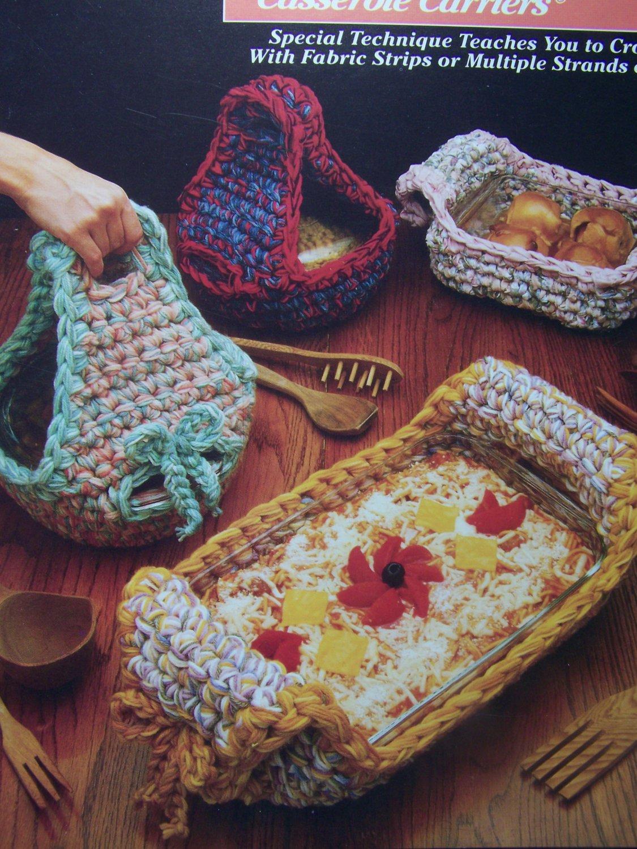 New Annies Attic Crochet Patterns Casserole Carriers