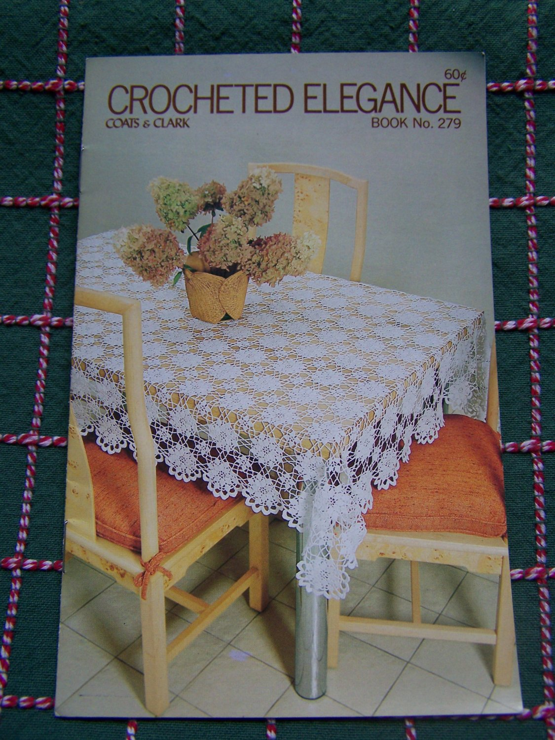 New Vintage Coats Amp Clark Crocheted Tablecloths Bedspreads