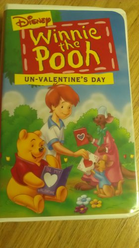Winnie The Pooh Un Valentines Day VHS Clamshell