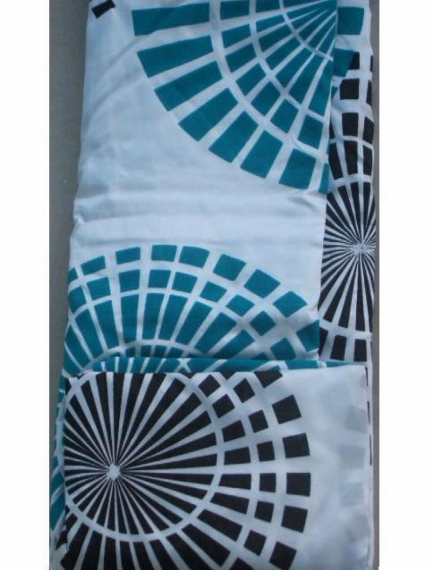 coffee themed kitchen rugs bar table turquoise geometric fabric shower curtain