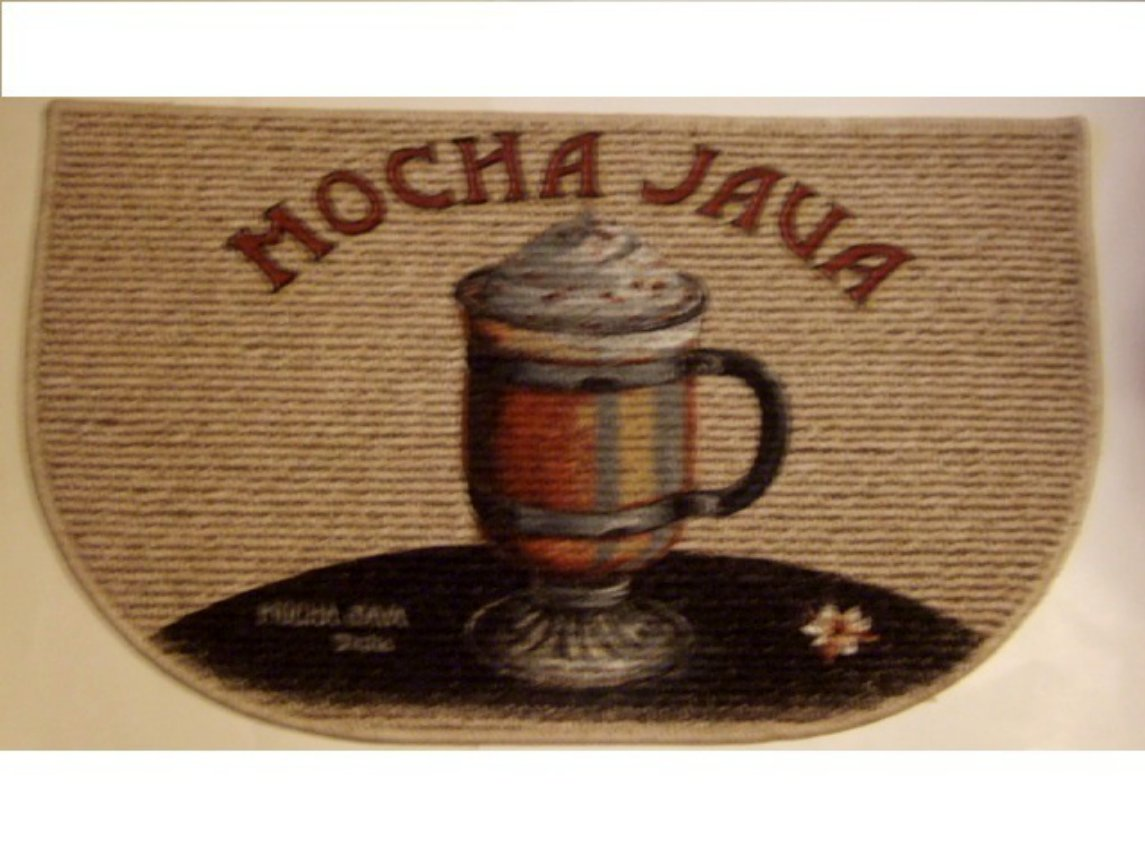 coffee kitchen rugs stonewall free shipping mocha java themed rug
