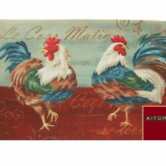 Rooster Rugs For Kitchen Franco Sinks Roosters Rug