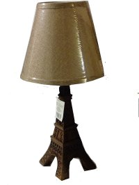 Paris Eiffel Tower Table Lamp and Shade