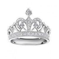 0.29cttw Diamond Crown Of Queen Princess Tiara Proposal ...