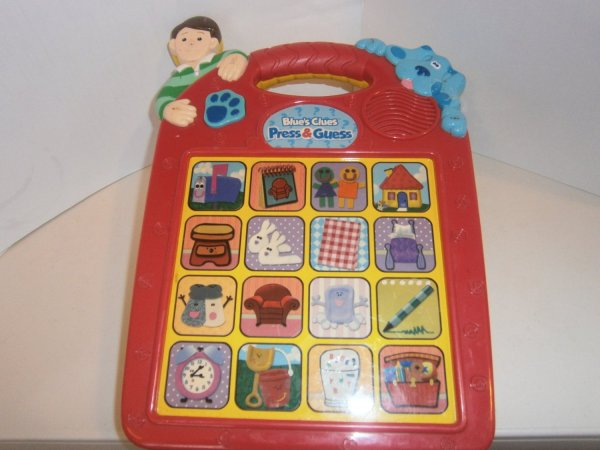 Used Blue' Clues Blues Electronic Talking Game Learning