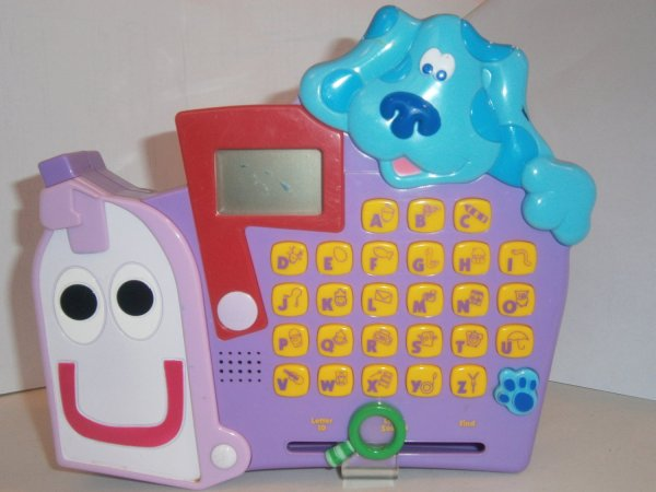 Used Blue' Clues Blues Toy Mailbox Talking Learning Game