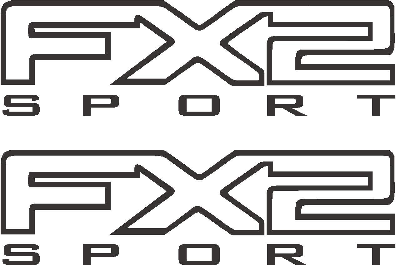 Ford F 150 F 250 F 350 Fx2 Sport Off Road Truck Decal Sticker X2