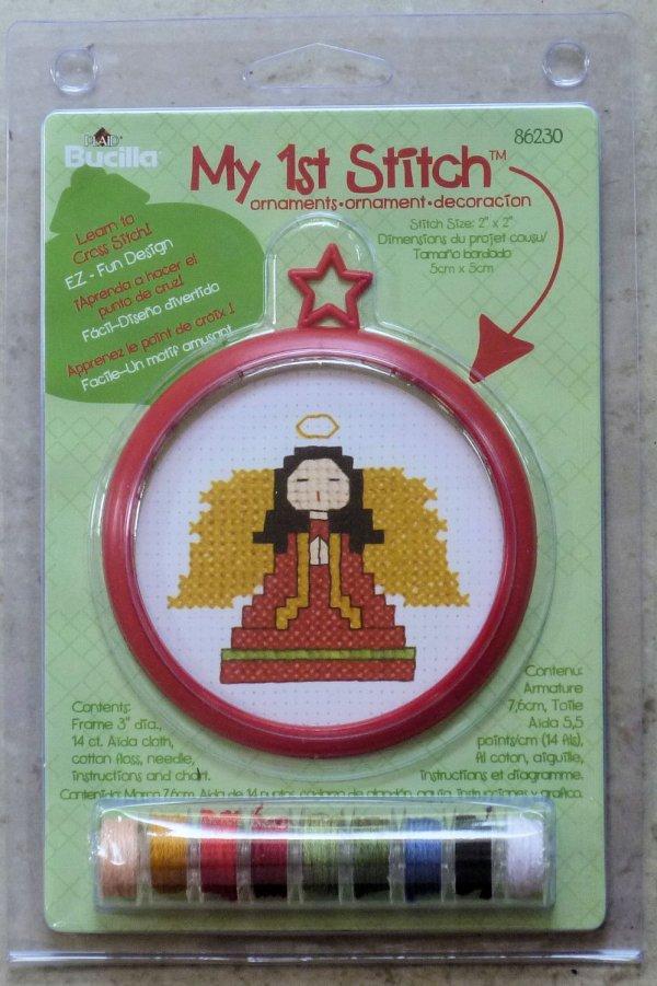 Child' Bucilla 1st Stitch Kit Learn Cross