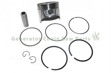 Honda 8HP Engine Motor Replacement Piston Kit Gx240 Parts 73mm
