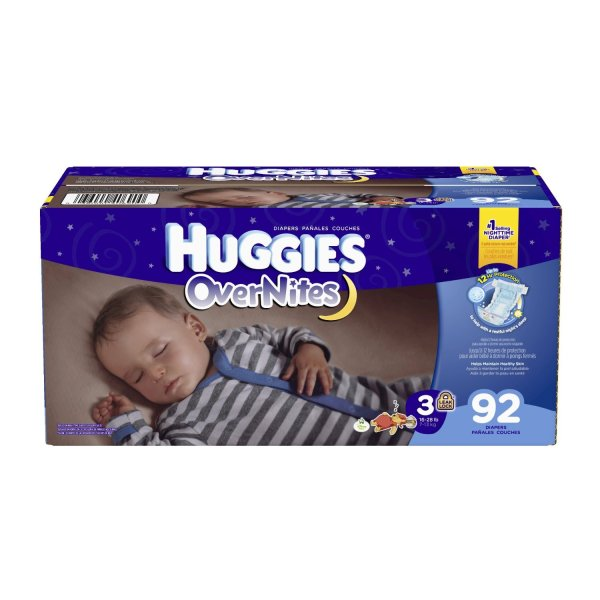 Huggies Overnight Diapers Size 5