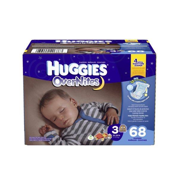 Huggies Overnites Diapers Size 3