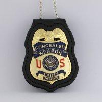Concealed Carry permit Handgun License Metal Badge 2 3/4 ...