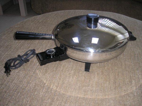 Farberware Stainless Steel Electric Fry Pan