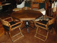 1970's Kitchen table and Chairs by Stanley Furniture