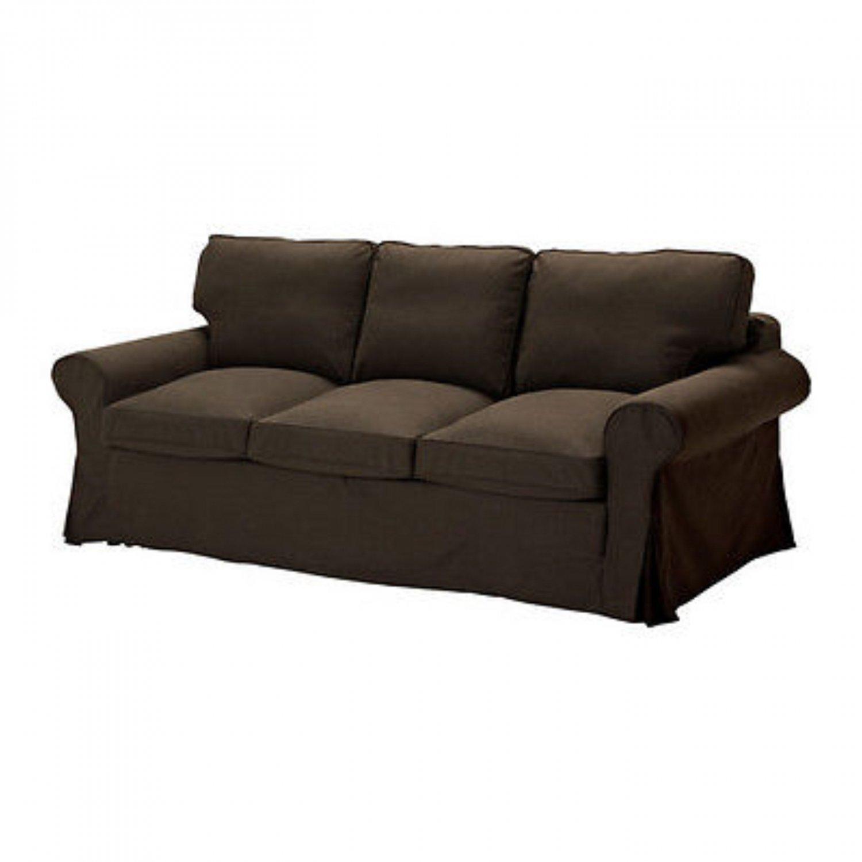 3 seater sofa beds best sectional sleeper ikea ektorp pixbo bed svanby brown 301 824 28