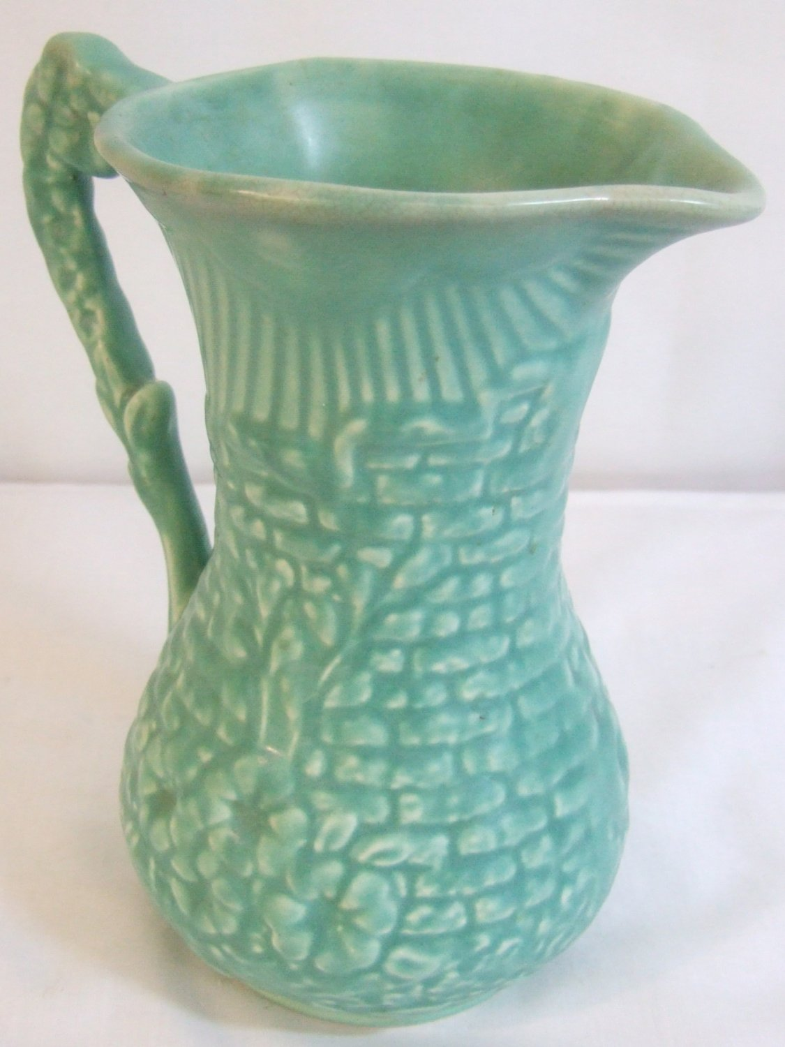 1950s Arthur Wood Large Pottery Jug Ewer Garden Wall