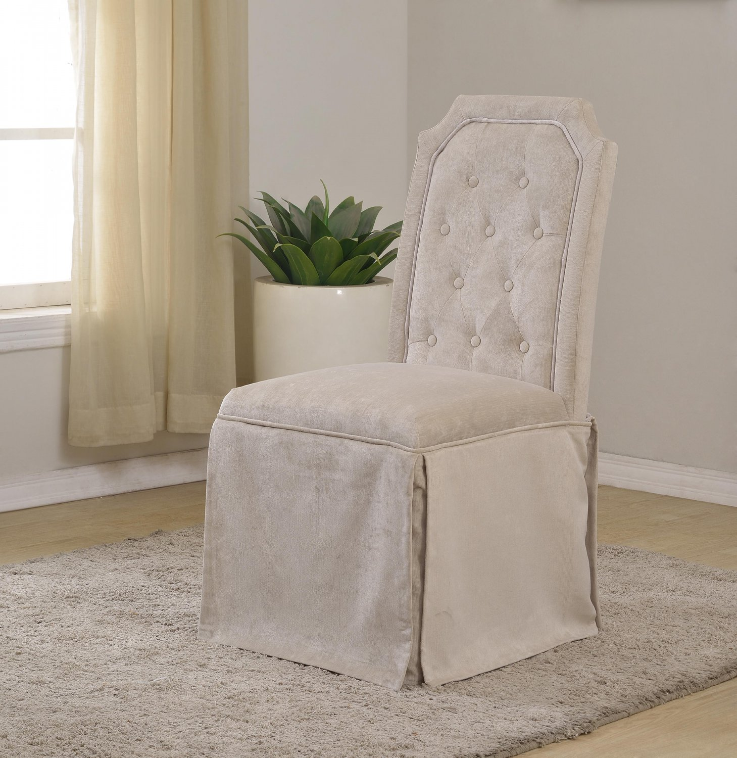 parsons chairs with skirt dining for sale yj058 upholstered pleated side set