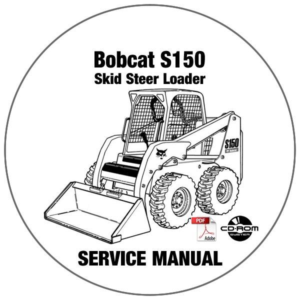 Bobcat Skid Steer Loader S150 Service Repair Manual
