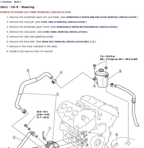 small resolution of 2011 mazda cx 9 service manual cd rom workshop repair 3 7l mzr v6 cx9 mazda cx 9 engine diagram