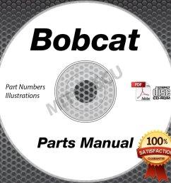 bobcat t300 compact loader parts manual cd repair shop serial s [ 904 x 904 Pixel ]