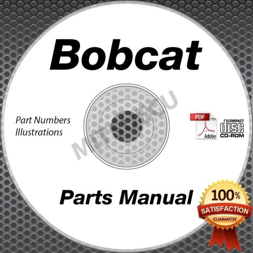small resolution of bobcat t300 compact loader parts manual cd repair shop serial s