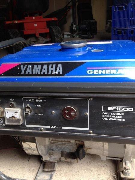 Yamaha EF1600 EF2500 Generator Service Manual CD LIT-19616