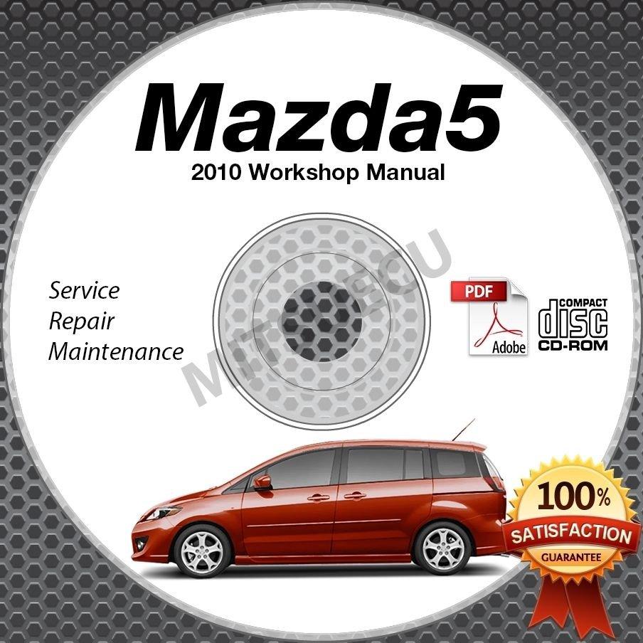 2010 mazda5 service manual cd rom workshop repair 2 3l