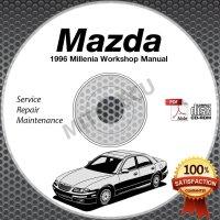 1996 Mazda Millenia Service Manual + Wiring Diagrams CD ...