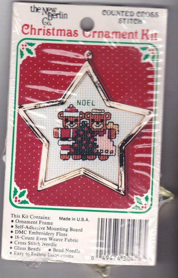 Berlin . Counted Cross Stitch Ornament Kit 1579