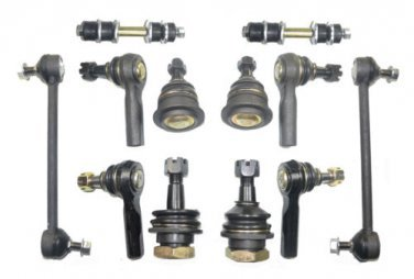 Xterra Suspension Steering Kit Tie Rod Ends Ball Joints