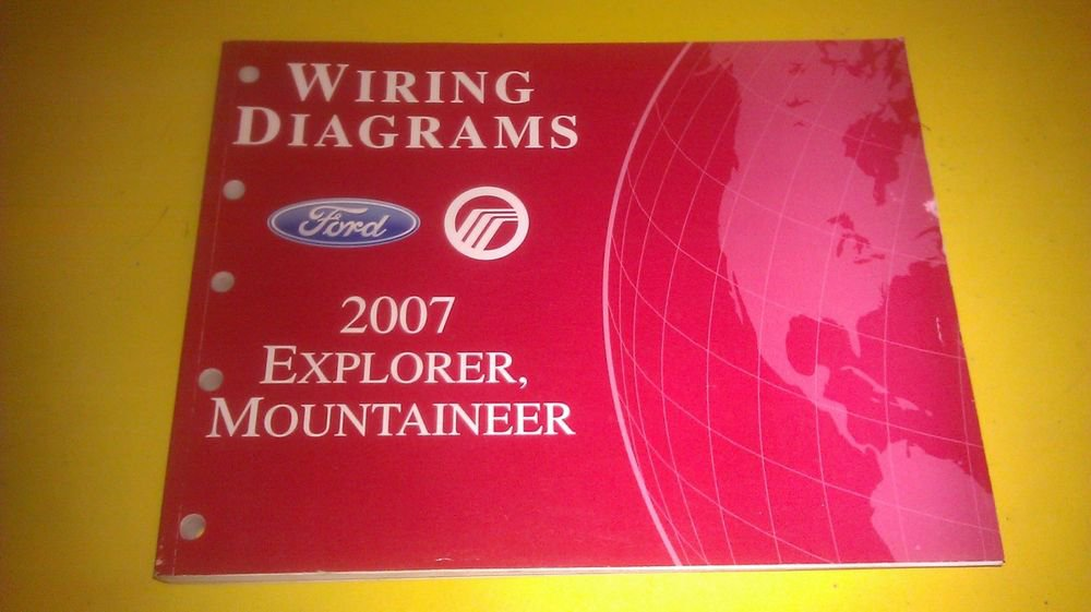 1999 Ford Explorer Mercury Mountaineer Wiring Diagram Manual Original