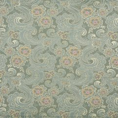 Brocade Sofa Fabric Small Grey Beds Uk 54 Quot Wide D122 Gold Pink And Blue Paisley Floral