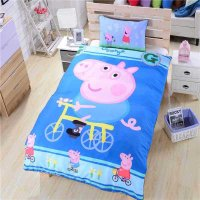 Peppa Pig 3PC Design Bedding Cover Set NEW - Full Size ...