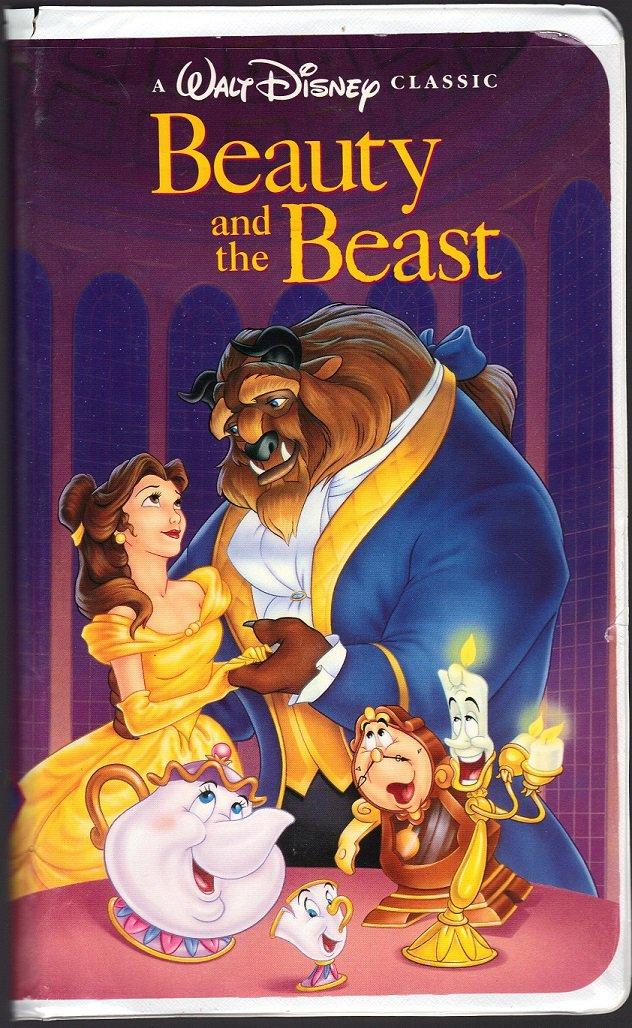 BEAUTY AND THE BEAST Walt Disneys Black Diamond Edition