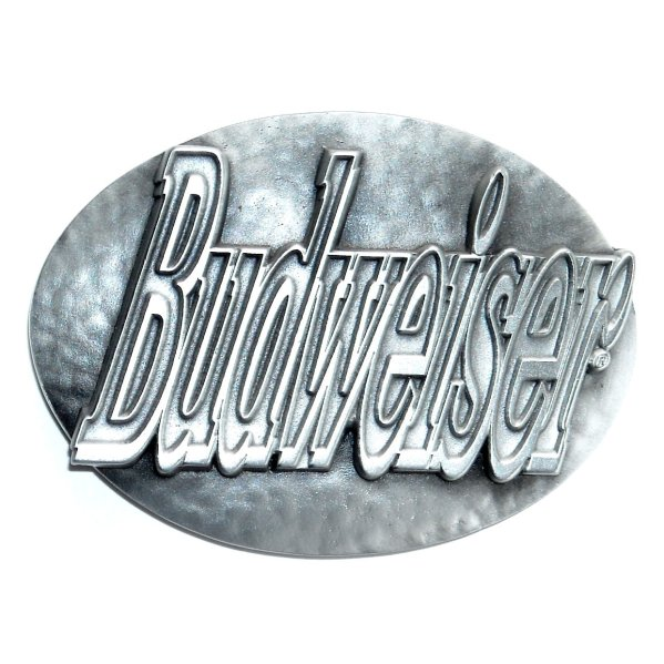 Budweiser 3d Official Great American Pewter Belt Buckle