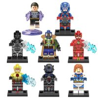 Atom reverse Flash Bane DC Super Heroes Lego Minifigure ...