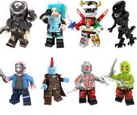 Predator Alien Jason Wachs minifigures Movie sets Lego ...