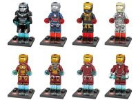 Iron Man Minifigures 2018 Avengers sets Lego Compatible Toy