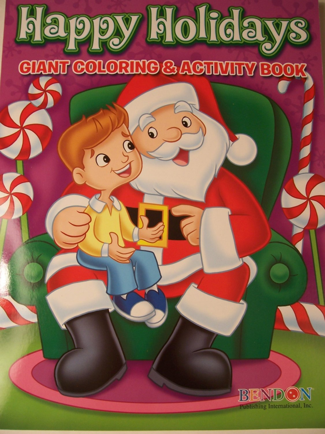 Happy Holidays 160 Page Giant Coloring And Activity Book