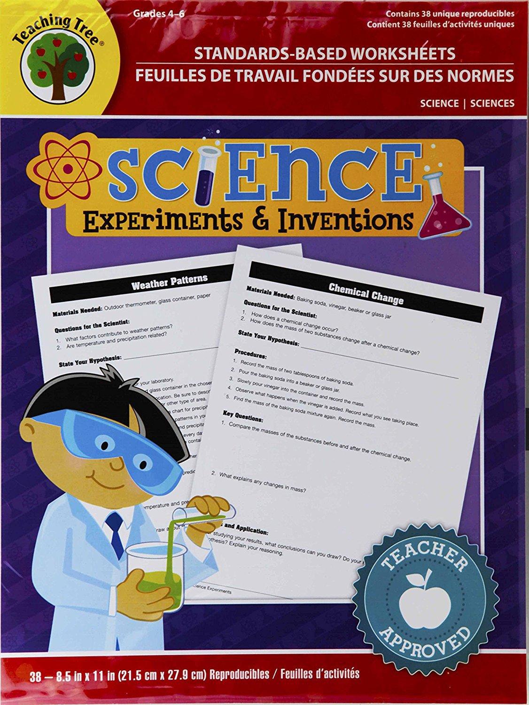 Standards Based Worksheets Grades 4 6 Science