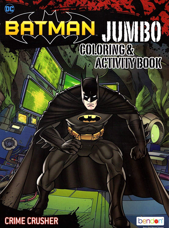 Dc Comics Batman Jumbo Coloring Amp Activity Book