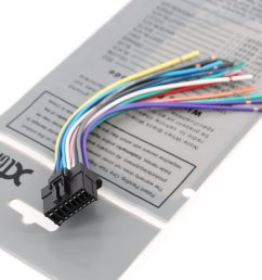 xtenzi radio speaker wire harness for pioneer cde6468 cdp3003 cde7060 cdp1017 [ 1000 x 833 Pixel ]