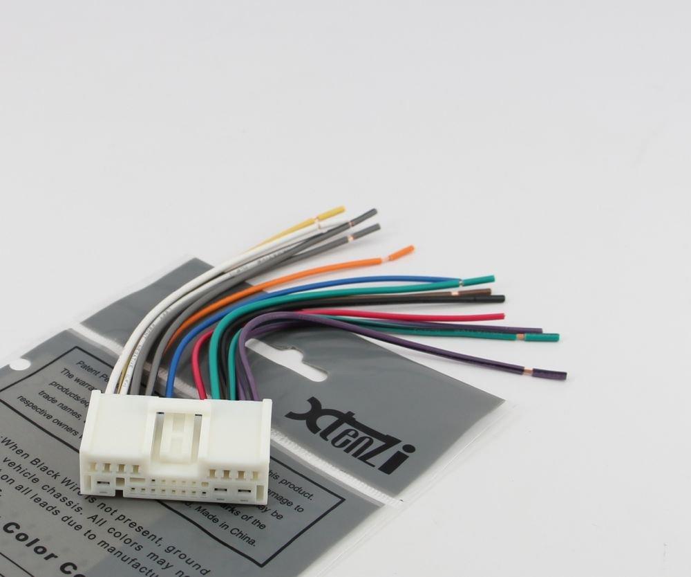 hight resolution of mazda prot g radio reverse wiring harness 2001 to 2012 oem radio 71 7903