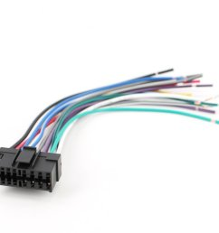 xtenzi radio wire harness for sony car sterio power plug 16 pin cdx mdx mex xr [ 1000 x 833 Pixel ]