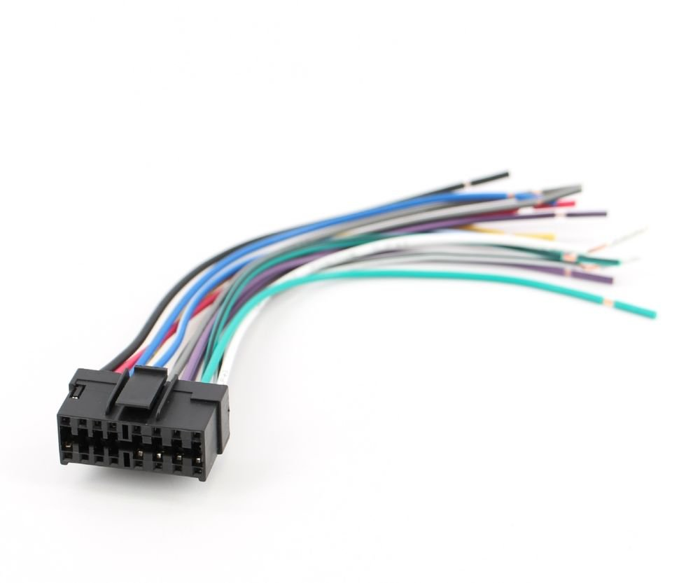 medium resolution of xtenzi radio wire harness for sony car sterio power plug 16 pin cdx mdx mex xr