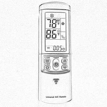 Sanyo Air Conditioner Remote Control Rcs-3mvps4e