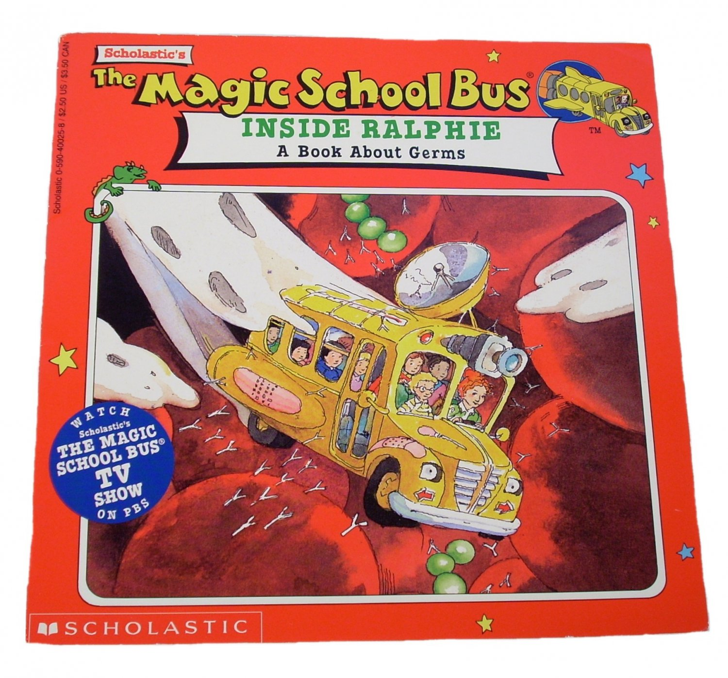 The Magic School Bus Inside Ralphie By Joanna Cole