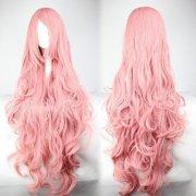 pink hair fashion anime wig