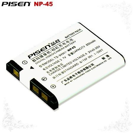 Fujifilm FinePix XP70 XP80 Z1010 Z909 NP-45 Pisen Camera