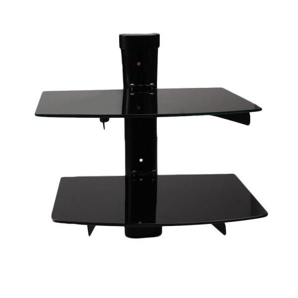 Wall Mount Glass Shelf TV Components